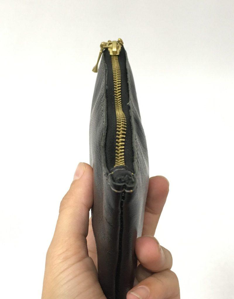 Monedero mini negro